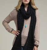 Fleurish Home Open Knit Oblong Scarf