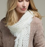 Fleurish Home Knitted Net Oblong Scarf