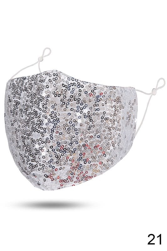 Fleurish Home Sequin Fashion Mask