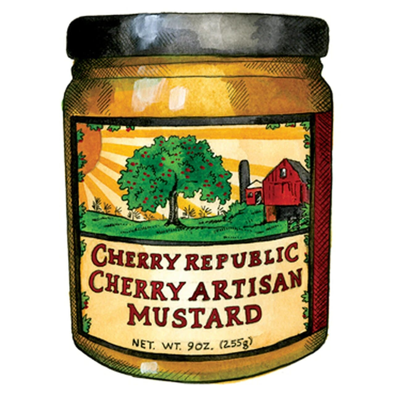 Cherry Republic Cherry Republic Cherry Artisan Mustard 9oz