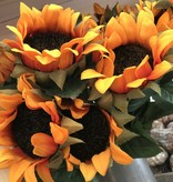 Fleurish Home Long Sunflower Bunch (choice of 2 colors)