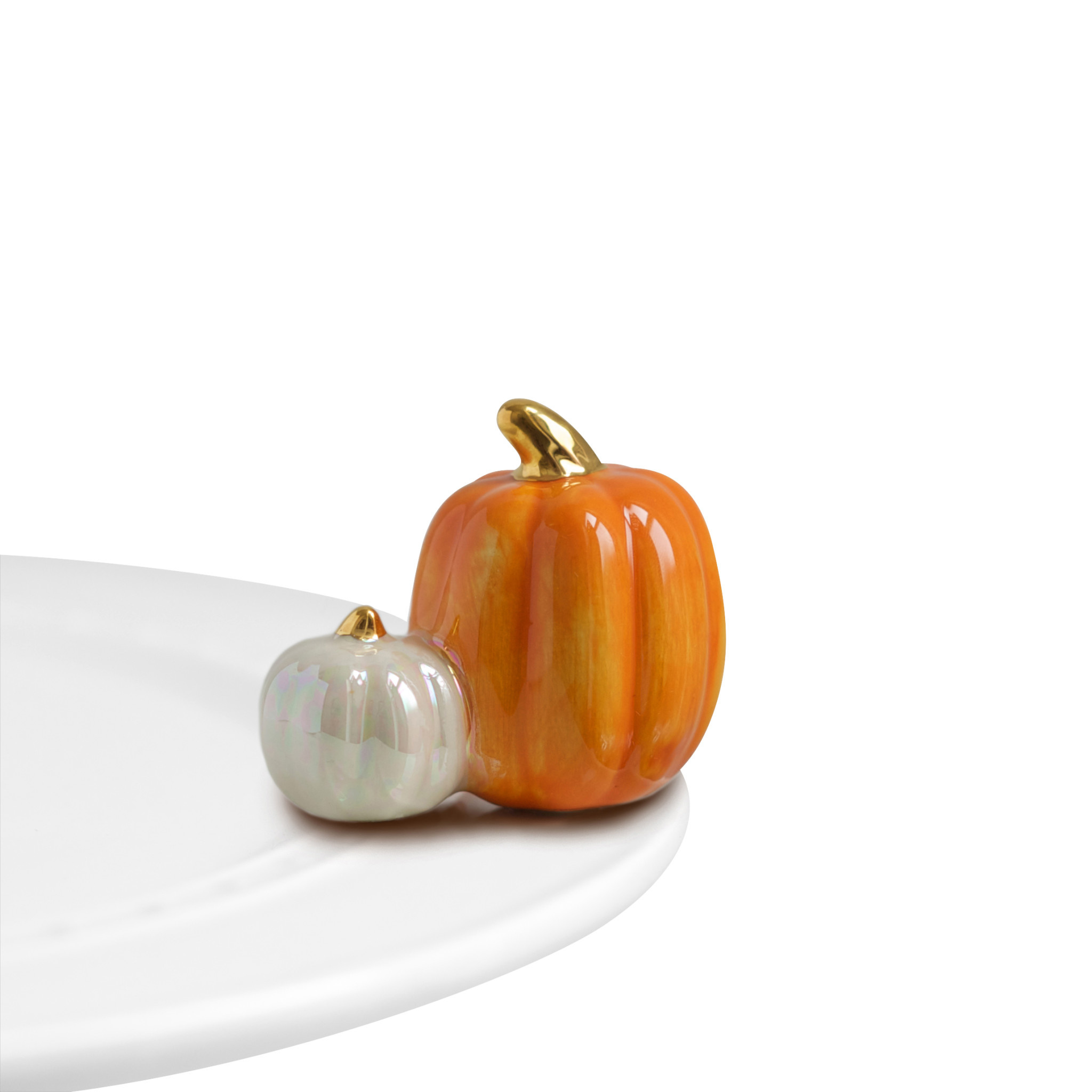 nora fleming pumpkin spice mini (two pumpkins)