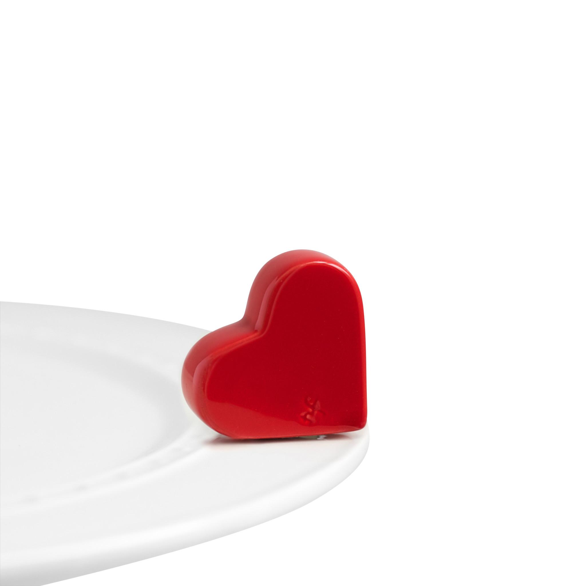 nora fleming be mine mini (red heart)