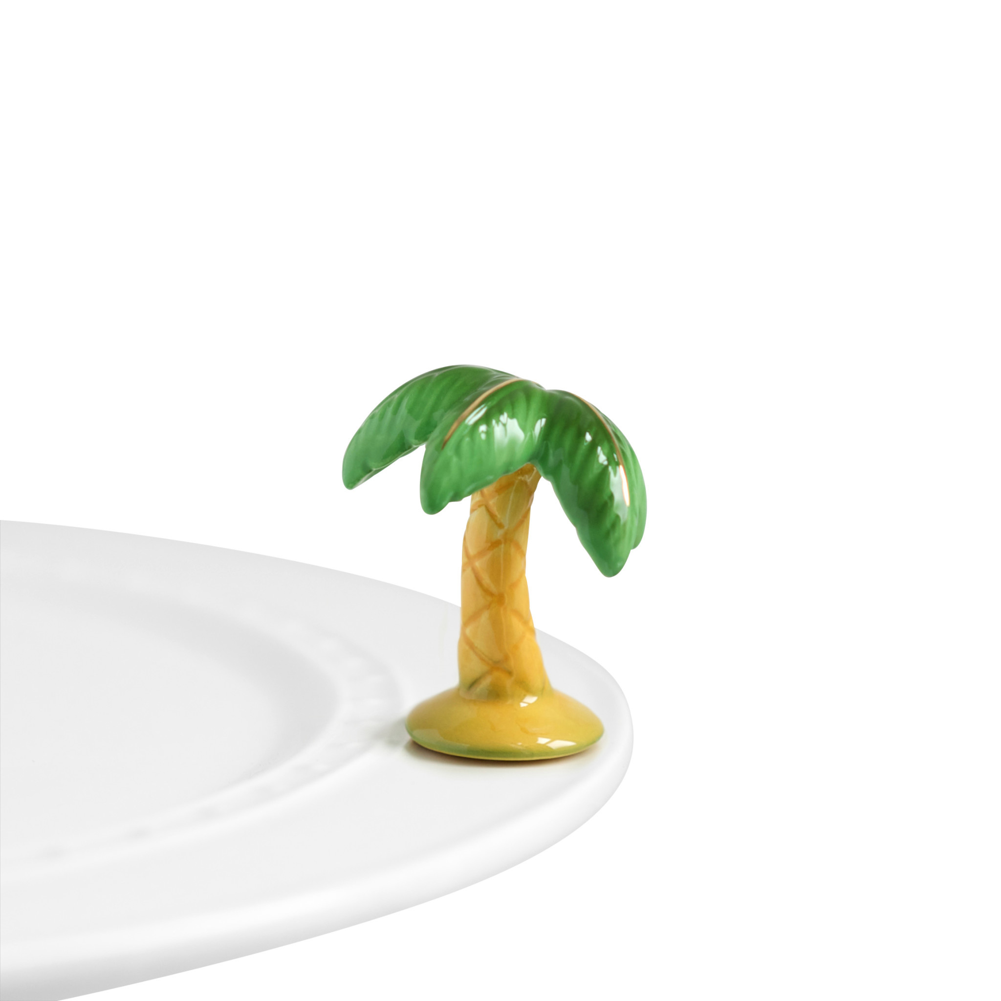 nora fleming in the breeze mini (palm tree)