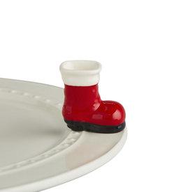 nora fleming big guy's boots mini (santa's red boot)