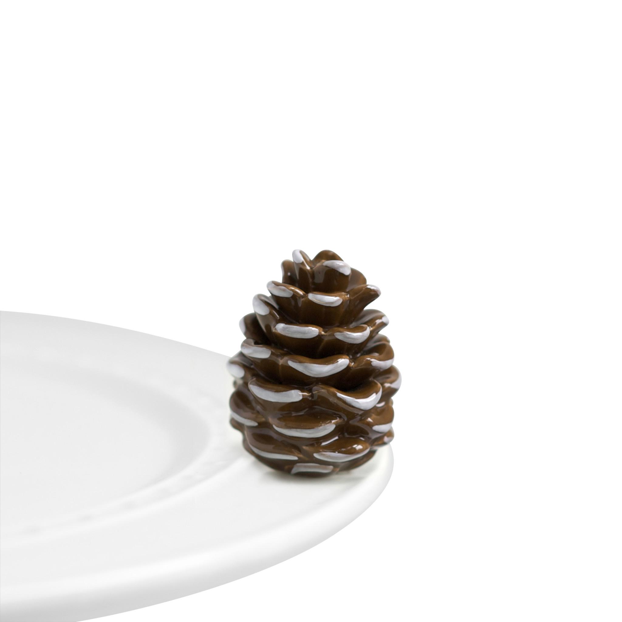 nora fleming pretty pinecone mini