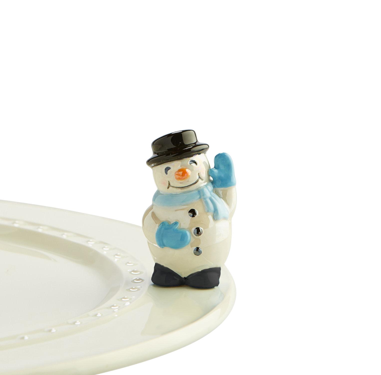 nora fleming frosty pal mini (snowman)