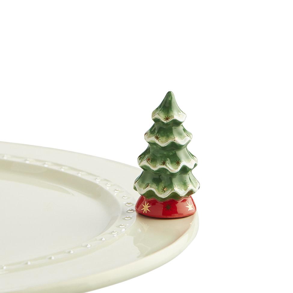 nora fleming o tannenbaum mini (christmas tree)