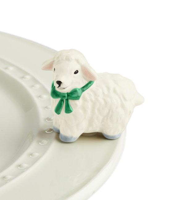 nora fleming i love ewe! mini (lamb/sheep)
