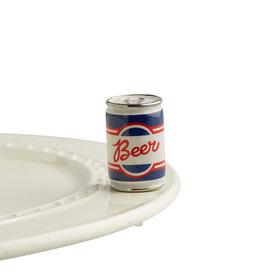 nora fleming beer me! mini (beer can)
