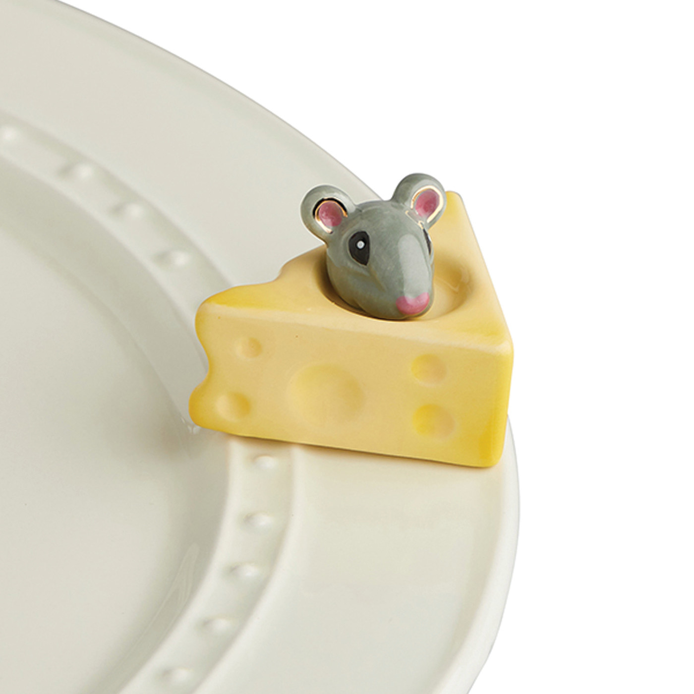 nora fleming cheese, please! mini (mouse in cheese)