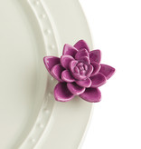 nora fleming get growing! mini (purple succulent)