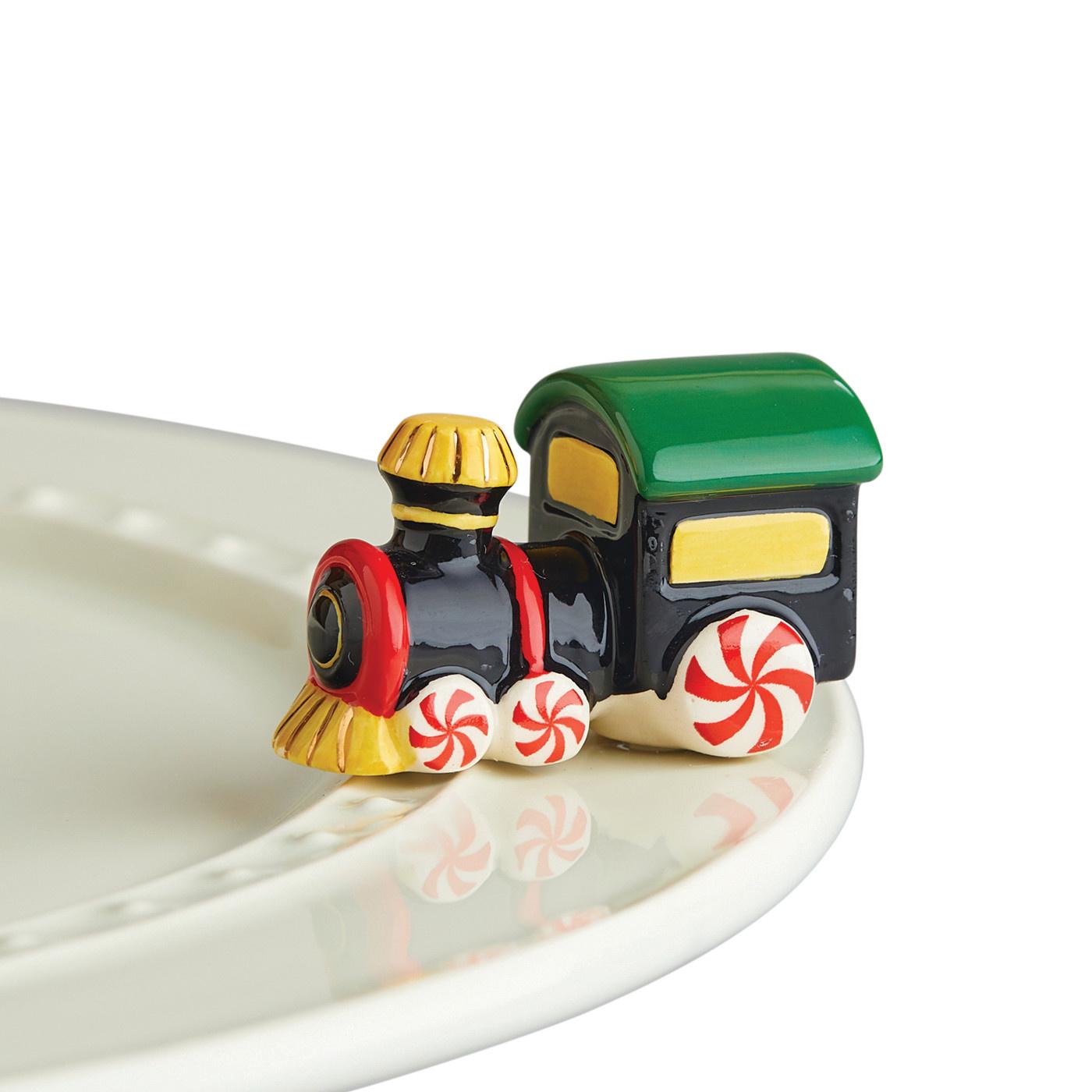 nora fleming St Jude Train mini (all profits are donated)