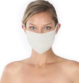 Fleurish Home Simple Cotton Fashion Mask: Bone