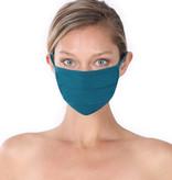 Fleurish Home Simple Cotton Fashion Mask: Teal