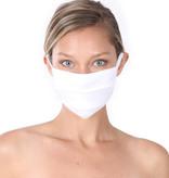 Fleurish Home Simple Cotton Fashion Mask: White