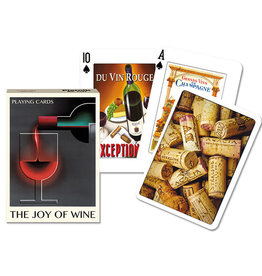 Piatnik Playing Cards Deck Joy of Wine