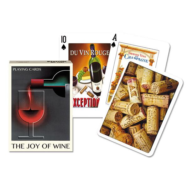 Piatnik Playing Cards Deck Joy of Wine