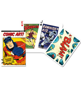 Piatnik Playing Cards Deck Vintage Comic Art