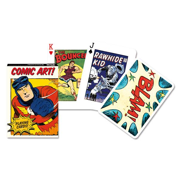 Piatnik Playing Cards Deck Vintage Comic Art