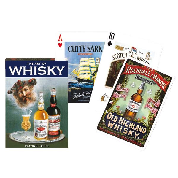 Piatnik Playing Cards Deck Whiskey