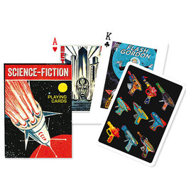Piatnik Playing Cards Deck Science Fiction