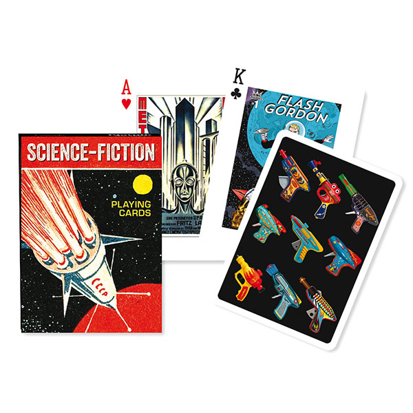 Piatnik Playing Cards Deck Science Fiction