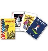 Piatnik Playing Cards Deck Travel USA