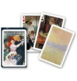 Piatnik Playing Cards Deck Art Masters (Impressionist Masterpieces)