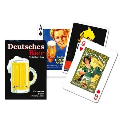 Piatnik Playing Cards Deck German Beer (Deutsches Bier)