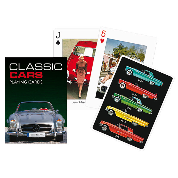 Piatnik Playing Cards Deck Classic Cars