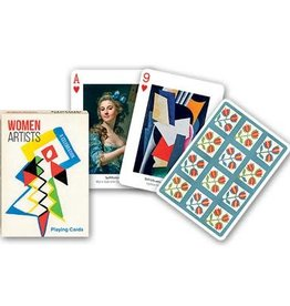Piatnik Playing Cards Deck Women Artists
