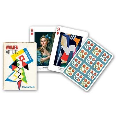 Piatnik Playing Cards Deck Women Artists