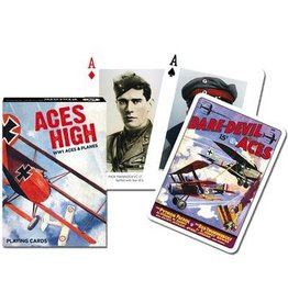 Piatnik Playing Cards Deck Aces High (WWI Planes)