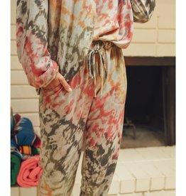 Fleurish Home Colorful Tie Dye Jogger Pant