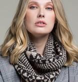 Fleurish Home Diamond Pattern Knit Infinity Scarf
