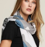 Fleurish Home Camouflage Print Woven Oblong Scarf