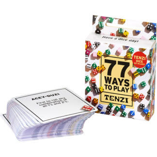 Tenzi 77 Ways to Play TENZI Card Deck