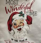 Mudpie MI WONDERFUL TIME XMAS TOWEL