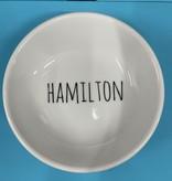 Fleurish Home Hamilton Name Ring Dish