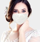 Fleurish Home Pearl Fashion Mask (White)