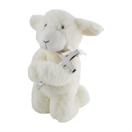 Mudpie MUSICAL PRAYER LAMB WITH CROSS