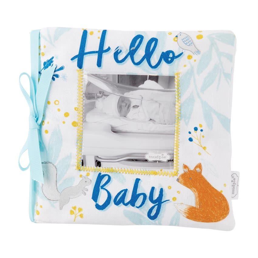 Mudpie HELLO BABY BOY BOOK