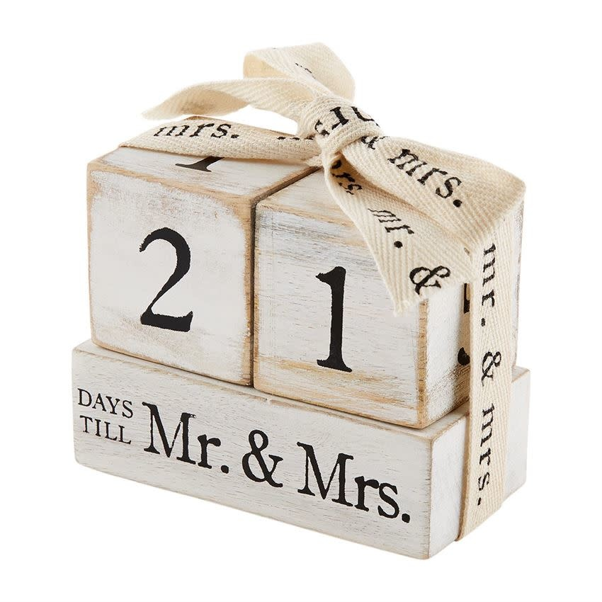 Mudpie COUNTDOWN TO MR AND MRS