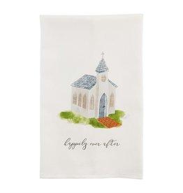Mudpie CHURCH WEDDING TOWEL