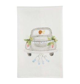 Mudpie CAR WEDDING TOWEL