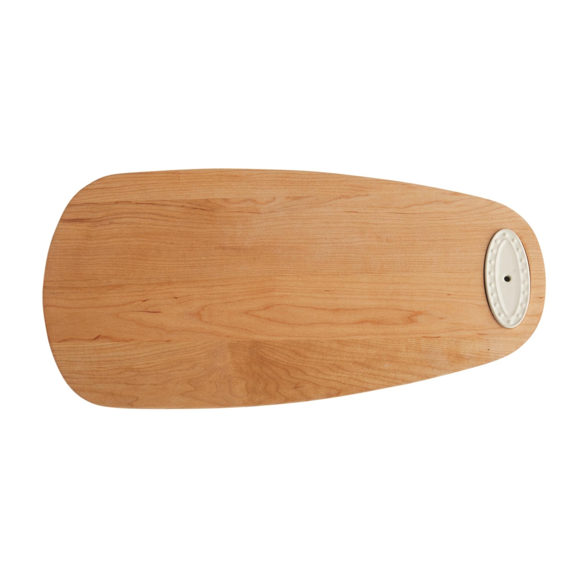 nora fleming maple tasting board
