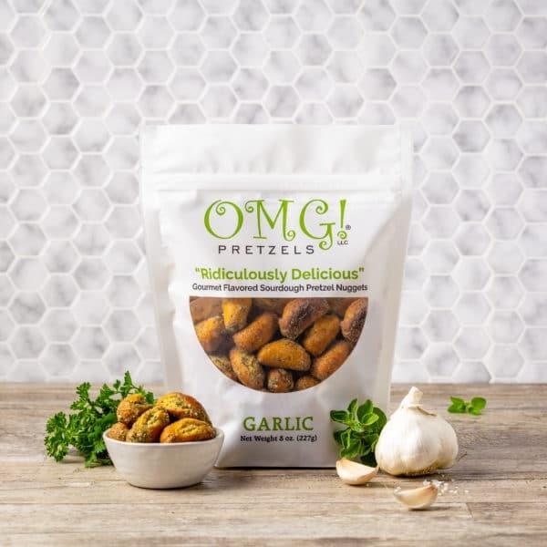 OMG! Pretzels OMG! Pretzels: Garlic
