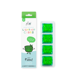 Glo Pals Green Light Up Cubes GloPals Pippa