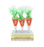 Hammond's Candies Easter Carrot Orange Cream Lollipop
